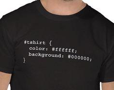 Geek Tee, Funny Geek Tee Tshirt T-Shirt - CSS id definition - CSS, HTML , web designer, web developer gift