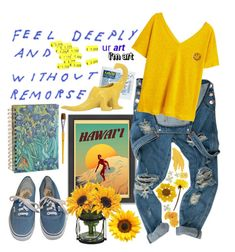 Art hoe transformation by cristeen97 on Polyvore featuring polyvore, fashion, style, MANGO, Vans, Americanflat, Imax Home and clothing