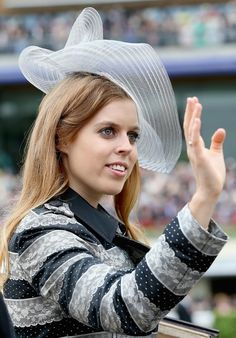 daylife:  ASCOT, ENGLAND - JUNE 18: Princess Beatrice  attends day one of Royal Ascot at Ascot Racecourse on June 18, 2013 in Ascot, England.