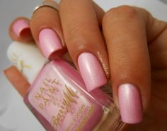 Barry M Blossom, Silk collection #nails #nailart #polish #pink - bellashoot.com