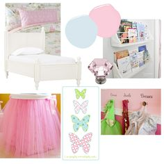 Mood Board - we already have a bed similar to this one, but w/ a trundle