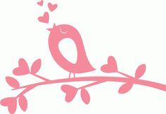 Bird in Love on Branch scrapbook titles SVG cutting files robot cut files for scrapbooking clip art clipart doodle cut files for cricut free svg cuts Stencils, Tree Svg, Scrapbook Titles, Freebies, Cute Clipart, Bird Tree, Silhouette Portrait, Cricut Creations, Silhouette Design