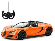 Radio Remote Control 114 Bugatti Veyron 164 Grand Sport Vitesse Licensed RC Model Car Orange * Check out this great product. Bugatti Veyron, Bugatti Cars, Ferrari, Remote Control Cars, Radio Control, Rc Cars For Sale, Best Rc Cars, Rc Model, Model Car