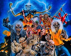 Heavy Metal and Gothic Art - Iron Maiden Album Cover Art ...