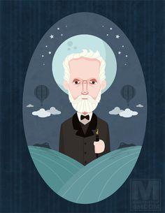 Jules Verne  by  Meghan Murphy