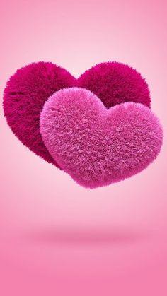 Captura de pantalla 3 de Fluffy Hearts Live Wallpaper