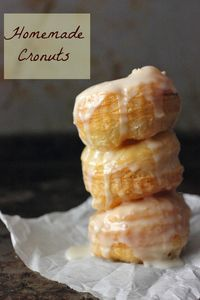 Puff Pastry Donuts (Cronuts)