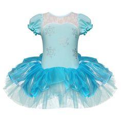 iiniim - Costume body da principessa con tutù, bambine, per carnevale, halloween, danza: Amazon.it: Sport e tempo libero
