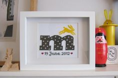 M is for marvellous, magical and Matilda Cross stitch