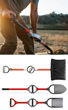Bosse Ergonomic Shovel