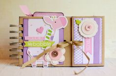 Baby Girl album by Kerry's Craft Blog