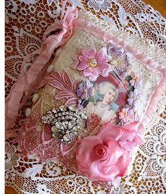 Versão com tecido - Marie journal