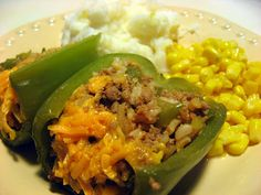 Stuffed Bell Peppers (freezer meal)