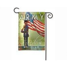 Army Garden Flag  Gold Crest Distributing has selling army garden flag product with good quality at best price. Gold Crest Distributing army garden flag has one of the most popular and high rank product under flags category. Many customers purchased Gold Crest Distributing army garden flag product and we received positive feedback from most of our customers.
