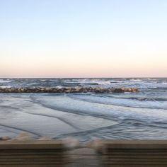 Bye bye sea. #sea #adriatic #beach #sunset #water #autumn #train #travel #igers #igersitalia