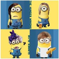 the hunger games minions... I saw this and thought it was funny. Haley thought you would like this.