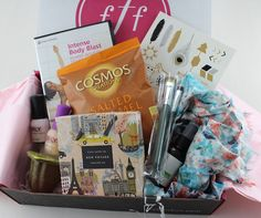 fab fit fun box | ... Fab Fit Fun Spring 2015 box: lots of great beauty and fitness items