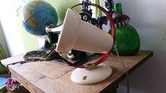 Philips InfraPhil lamp omgebouwd naar schemerlamp