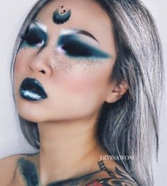 Blue Fairy Makeup 70 Halloween Makeup Ideas Health And - Chibii Lucy - Blue Fairy Makeup 70 Halloween Makeup Ideas Health And Blue Fairy Makeup 70 Halloween Makeup Ideas Health And - Rave Makeup, Sfx Makeup, Costume Makeup, Makeup Art, Beauty Makeup, Prom Makeup, Cheer Makeup, Makeup Inspo, Makeup Inspiration