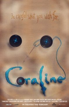 Coraline -- One of the greatest achievements of animation ever. Stop Motion, Coraline Neil Gaiman, Dragons, Coraline Jones, The Secret World, Movie Characters, Tim Burton, Great Movies, Nightmare Before Christmas