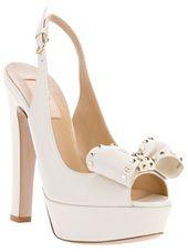VALENTINO - peep toe sandal