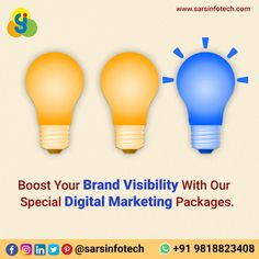 Strengthen your brand quotient by enhancing your brand visibility with our cost-effective Digital Marketing packages.   Whatsapp us now @ +91 9818823408 to get a pocket- friendly quote.   #brandawareness #brandmarketing #brandpositioning #brandstrategist #contentstrategy #brandagency #contentmarketing #marketingagency #smallbusinessmarketing #socialmediamanager #advertisingagency #inspiration #socialmediamarketing #digitalmarketing #onlinemarketing #seo #inboundmarketing #webdesig… Inbound Marketing, Content Marketing, Online Marketing, Social Media Marketing, Small Business Marketing, Online Business, Brand Strategist, Best Web Design, Web Design Company