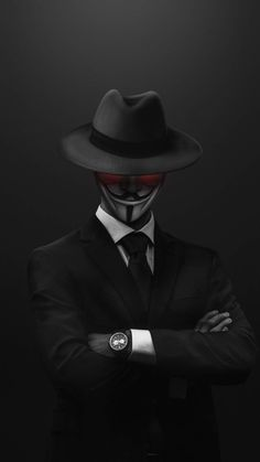 Vendetta Mask Anonymous - IPhone Wallpapers