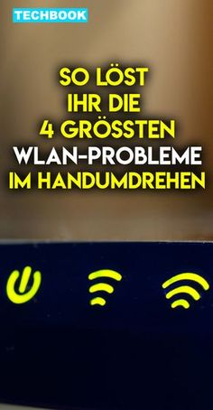 Así es como resuelves la mayoría de los problemas de WiFi So löst du die meisten WLAN-Probleme Resolver problemas de WLAN Technology Gifts, Technology World, Futuristic Technology, Cool Technology, Computer Technology, Technology Gadgets, Tech Gadgets, Business Technology, Technology Design