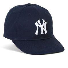 Official NY Yankees Baseball Caps This official blueNew York Yankees baseball cap makes a great gift for any NY Yankees fan. NY Yankees replica game cap with the official NY Yankees logo. Quality emb