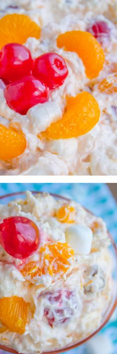 Ambrosia Salad from The Food Charlatan. It is an Easter classic! I doubled up the mandarin oranges because there are never enough, right? This dreamy creamy fruit salad is kind of hard to stop eating.