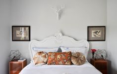 10 Ways to Make a Big Bedroom Feel Cozy | Apartment Therapy Home Bedroom, Master Bedroom, Bedroom Decor, Bedroom Ideas, Bedroom Interiors, Large Bedroom, Big Bedrooms, Eclectic Bedrooms, Water Bed