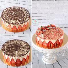hello les amis, depuis le temps vous savez que le fraisier et moi c'est une grande histoire d'amour, c'est LE gâteau que je réalise le plus. Et aujourd'hui j'ai décidé de vous partager enfin une recette facile et délicieuse. Je vous ai également préparé...