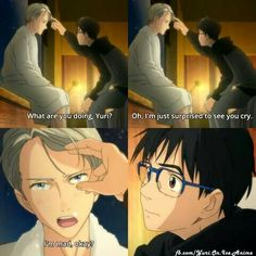 Yuri on Ice Am I only one who wants Yuuri be seme?