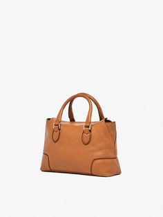 Spring summer 2017 Women´s MINI LEATHER TOTE BAG WITH BEADS DETAIL at Massimo Dutti for 111.2. Effortless elegance!