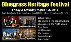 Bluegrass Heritage Festival 2013