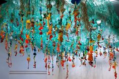 Washed Ashore is a traveling exhibit made entirely from ocean debris collected on Pacific beaches.