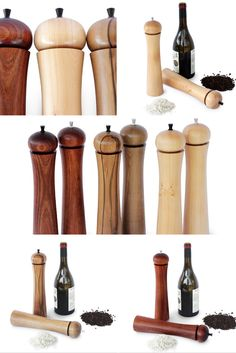 These beautiful salt and pepper mills come in a selection of Tasmanian timbers, namely Sassafras, Blackwood and Huon Pine. These larger size mills hold more salt and pepper while giving visual impact to your dining table. The grinding mechanisms are Danish with a 10 year guarantee.