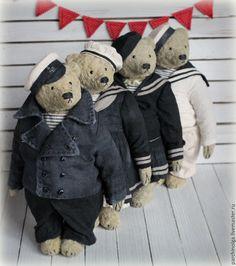 Needle Felted Animals, Felt Animals, Tedy Bear, Old Teddy Bears, Teddy Toys, Felt Toys, Vintage, Bears, Plushies