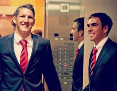 bastian schweinsteiger and philip lahm-german soccer players are the best