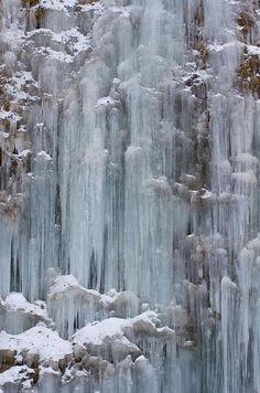 Frozen Waterfall Photograph by nag#12@Nagano_Japan
