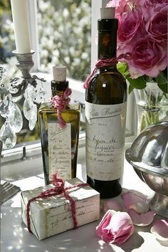 Luscious Cote Bastide toiletries are all part of the luxury.