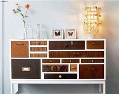 Modern Classic: Kolorowe szuflady