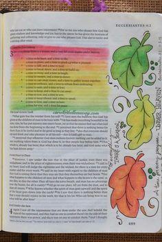 Ecclesiastes 31 November 5 2015 Carolbelleauway Colored Pencil