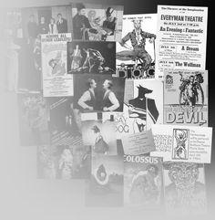 Clive Barker  - theatre collage