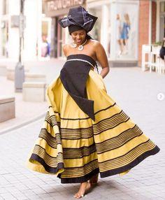 Xhosa, One Shoulder, Shoulder Dress, African, Traditional, Clothes, Dresses, Design, Fashion