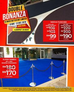 Events for sale, in Klang, Selangor, Malaysia. Alaqsa Event Carpet will make Your Event Perfect! The Promo Price is cheap -Just from T Cost Of Carpet, Carpet Sale, Axminster Carpets, Office Carpet, Where To Buy Carpet, Pets For Sale, Cheap Carpet Runners, Carpet Stairs