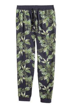Wzorzyste spodnie od piżamy | H&M 12/08/15