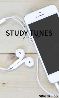 Study Tunes - a music playlist to help energize students for studying! Conquer math, English, and so much more with these songs that will help you study effectively