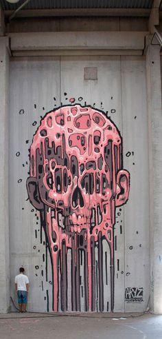 Street Art du jour : ARYZ