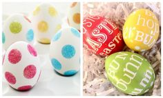 Fun Easter egg decorating ideas!